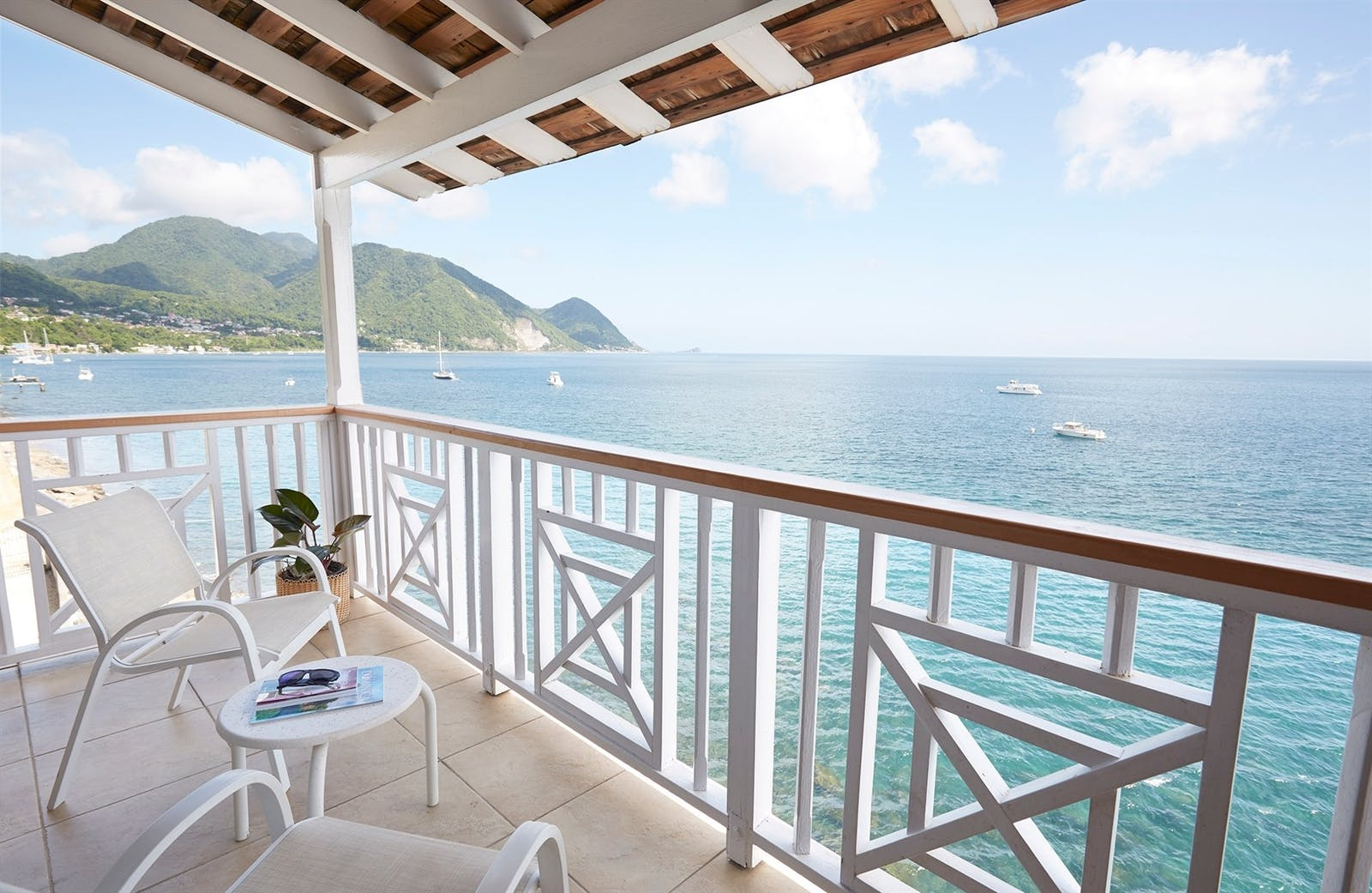 Balcony View, Fort Young, Dominica