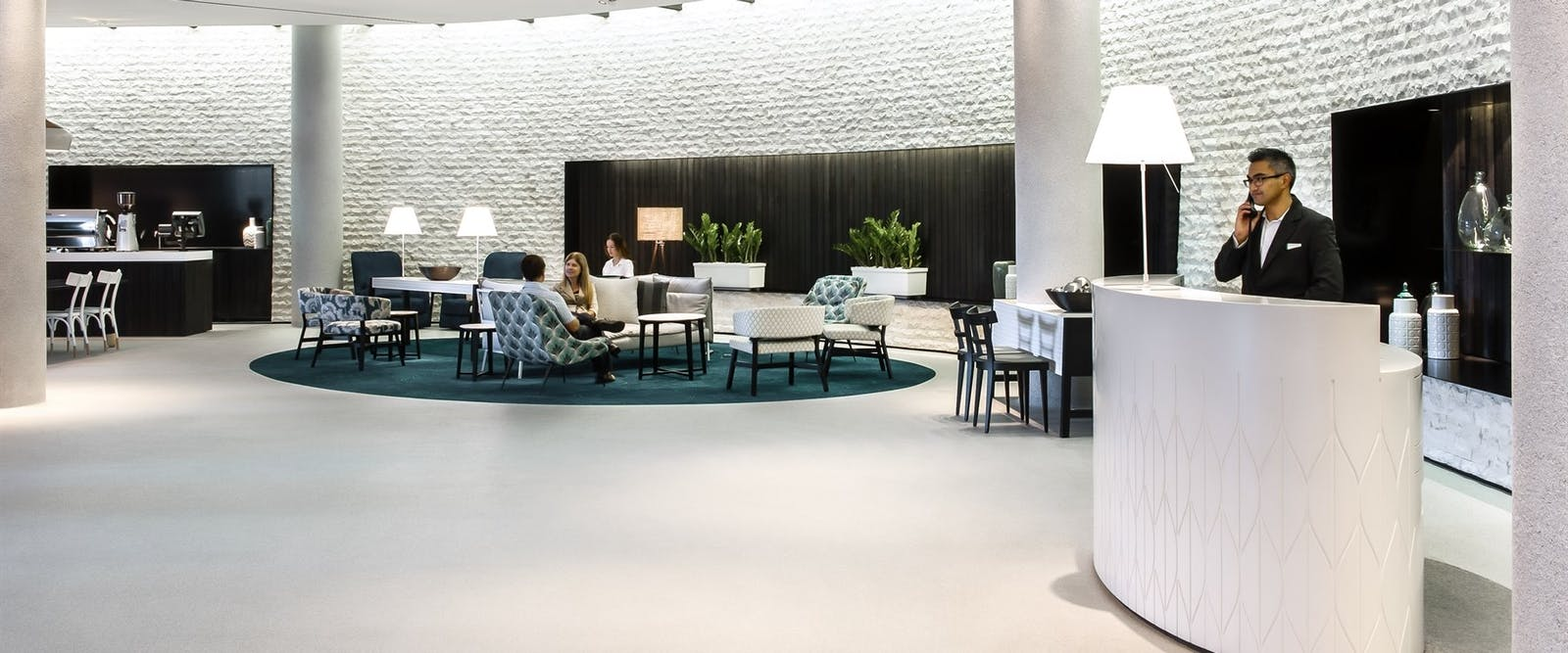 Hotel lobby at Parkroyal Darling Harbour, Australia