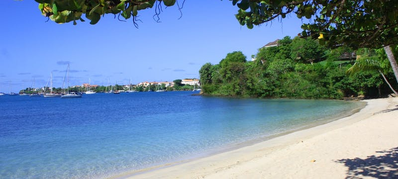 Beach at Idyllic beach at Calabash Luxury Boutique Hotel & Spa