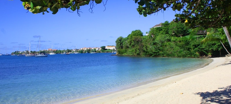 Beach at Idyllic beach at Calabash Luxury Boutique Hotel & Spa