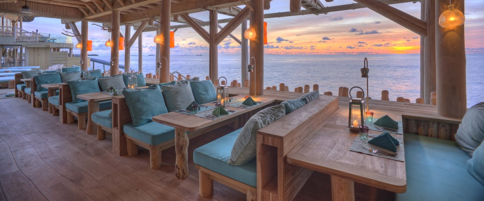 Out of the Blue Restaurant at Soneva Fushi, Maldives, Indian Ocean