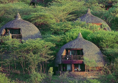 Exterior view of Serengeti Serena Safari Lodge