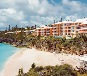 Exterior of The Reefs Hotel & Club, Bermuda