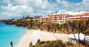 Idyllic shoreline at The Reefs Hotel & Club, Bermuda