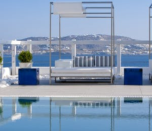 Swimming pool at Grace Mykonos