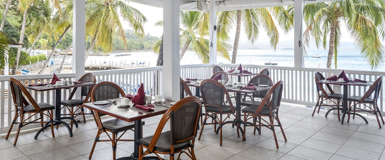 Dining Area at  at Windjammer Landing