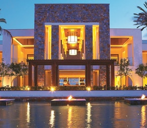 Exterior of Amirandes Grecotel Exclusive Resort, Crete, Greece