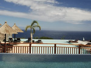 Pool area at Palm Hotel & Spa, Reunion Island