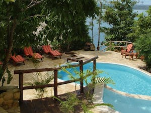 Pool at La Lancha, Guatemala