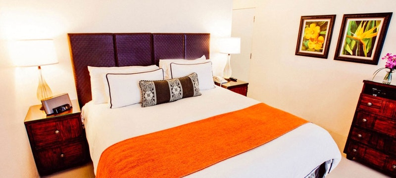 Sea Melody bedroom at The Reefs Hotel & Club, Bermuda
