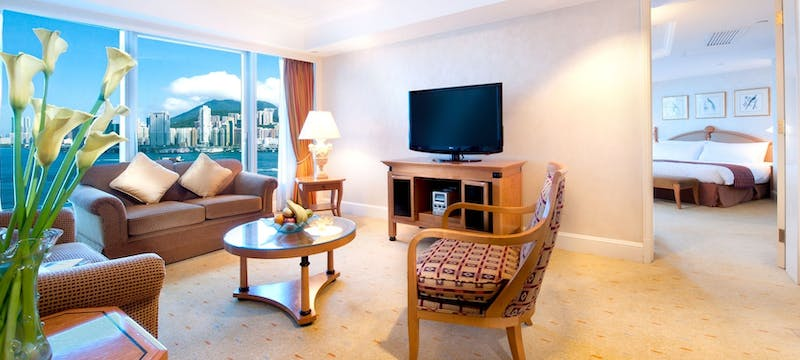 Barbour view suite at Harbour Grand Kowloon