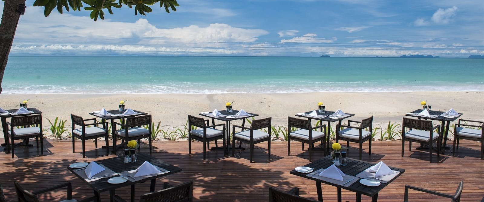 SeaSky Restaurant at Layana Resort & Spa Koh Lanta, Thailand