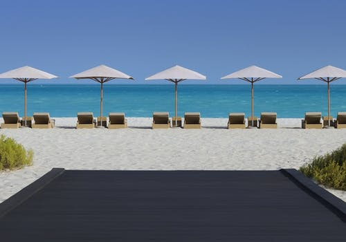 Beach at Park Hyatt Abu Dhabi Hotel & Villas