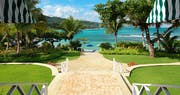 Entrance to Round Hill, Jamaica