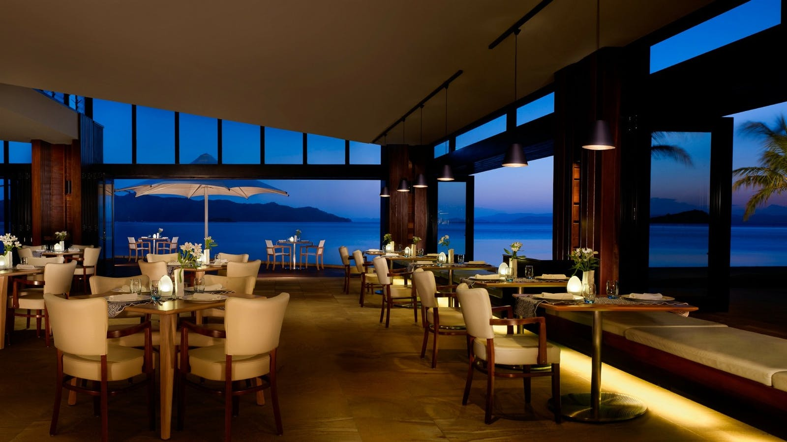 Dining at InterContinental Hayman Island Resort, Great Barrier Reef Islands