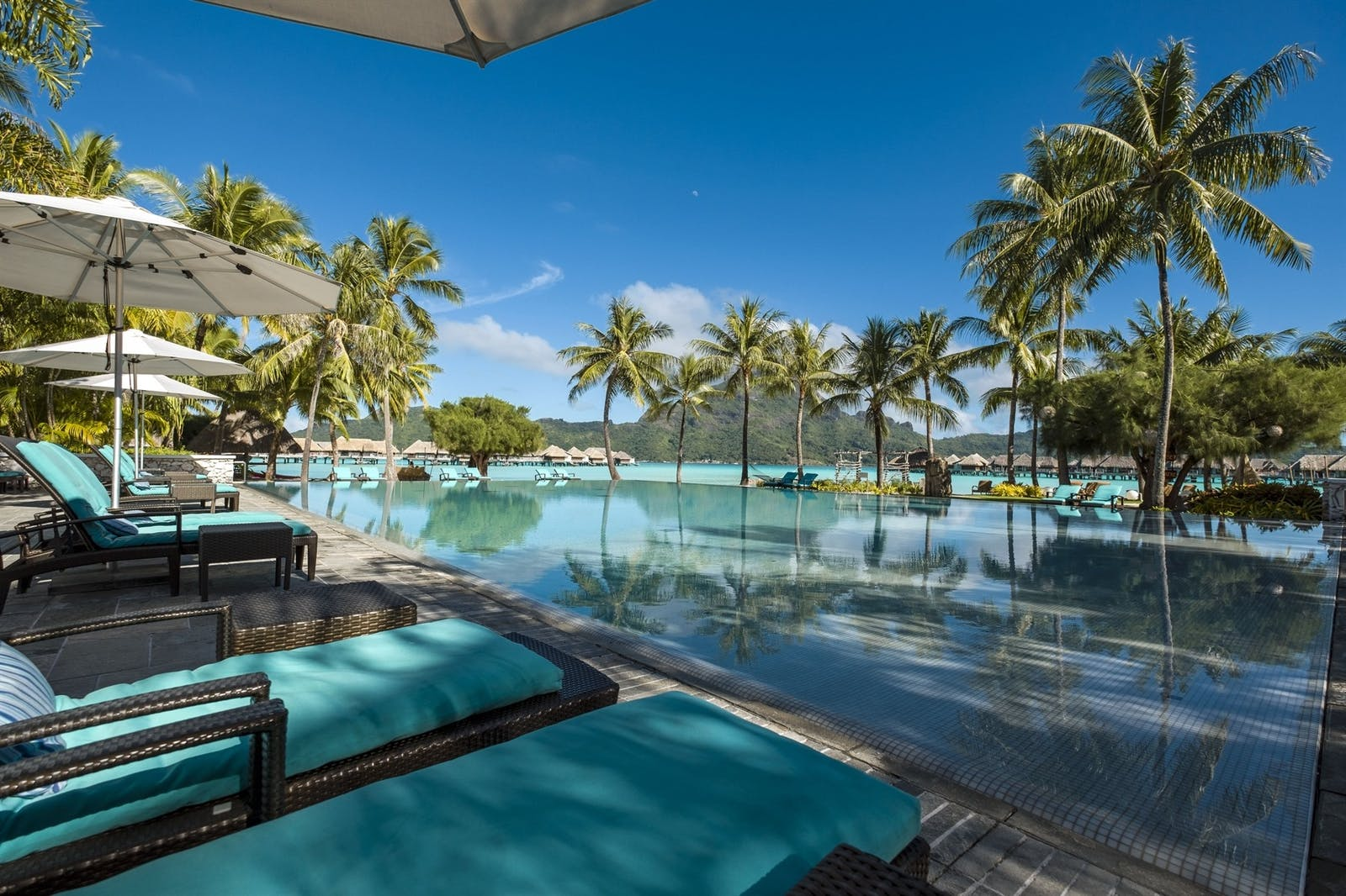Main Pool at InterContinental Bora Bora Resort & Thalasso Spa, French Polynesia