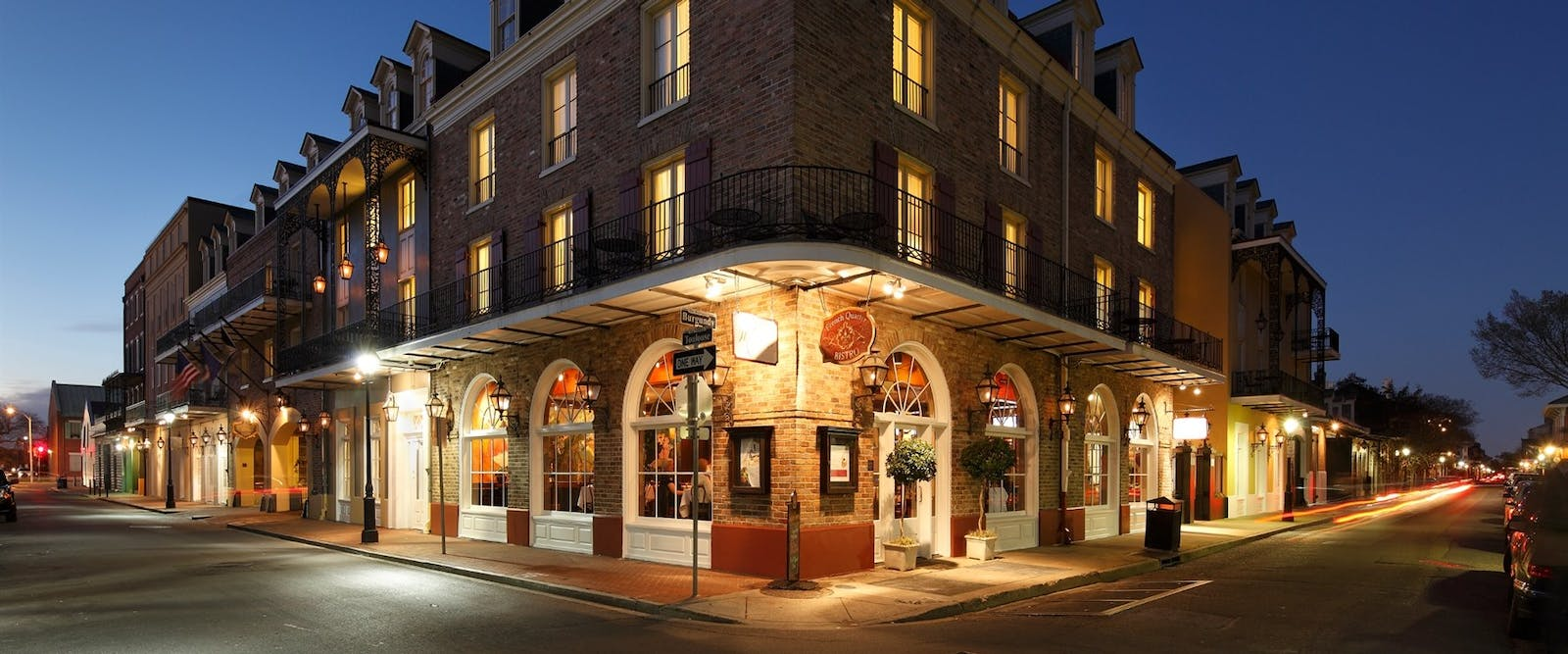 Exterior of The Maison Dupuy, New Orleans