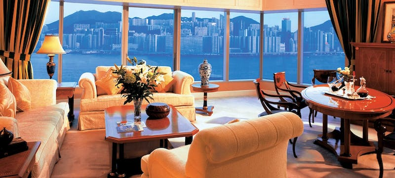 Sitting room at Harbour Grand Kowloon
