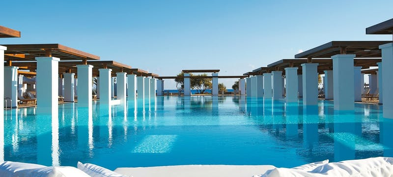 Swimming pool at Amirandes Grecotel Exclusive Resort