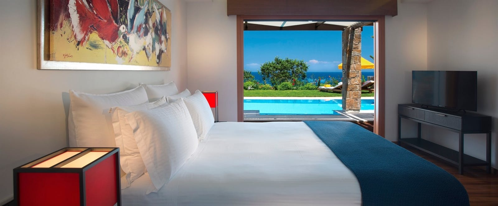 Villa Bedroom at Porto Zante, Zakynthos