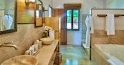 Master bathroom at Calabash Luxury Boutique Hotel & Spa