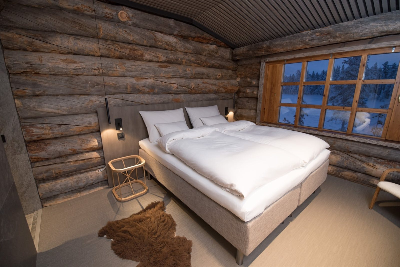 Cosy double room, Javri Lodge, Finland