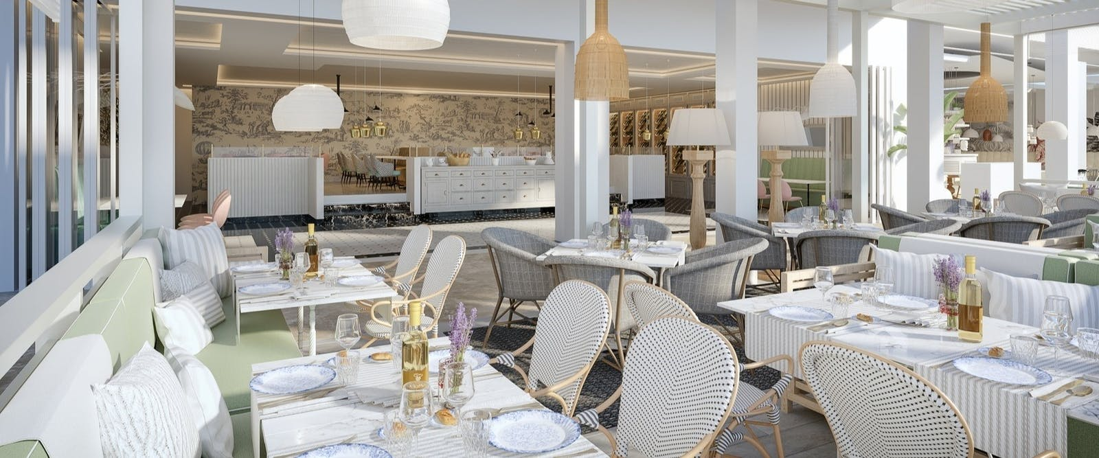 Provence Restaurant at Ikos Andalusia, Costa Del Sol, Spain