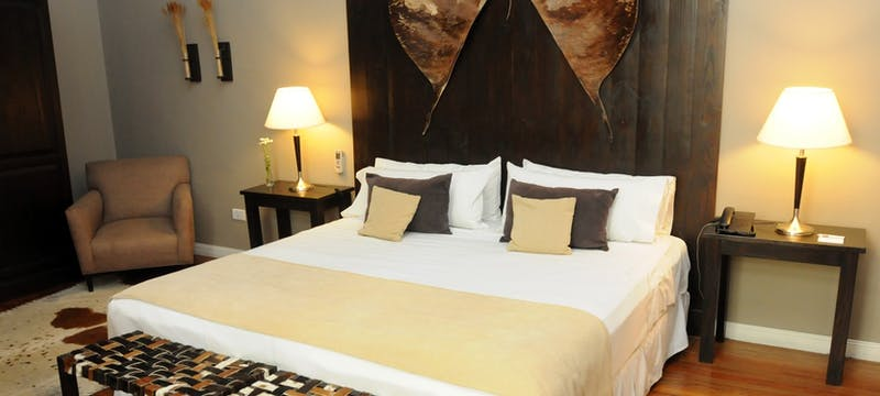 El Gaucho bedroom at Legado Mitico