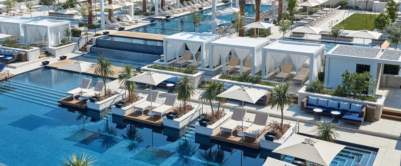 Pool Cabanas at Regent Porto, Montenegro