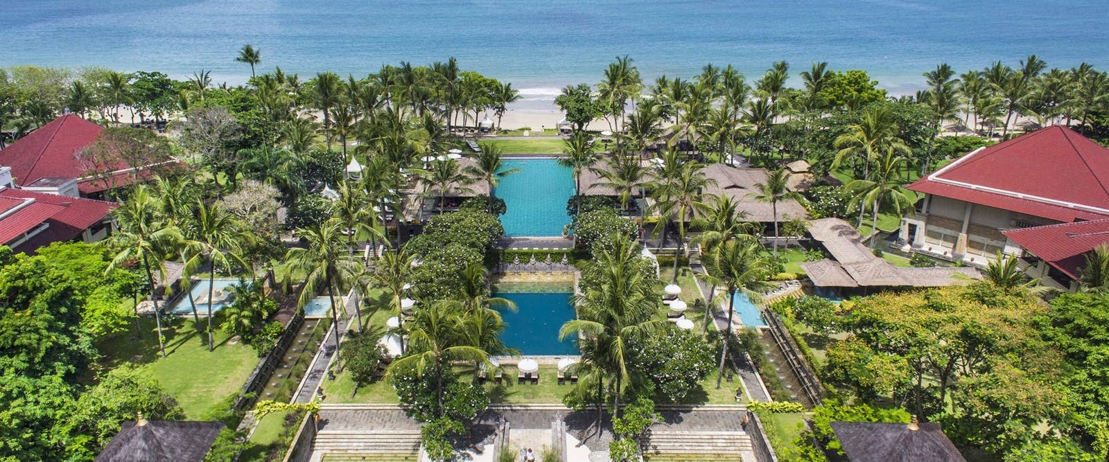 exterior of Intercontinental Bali Resort