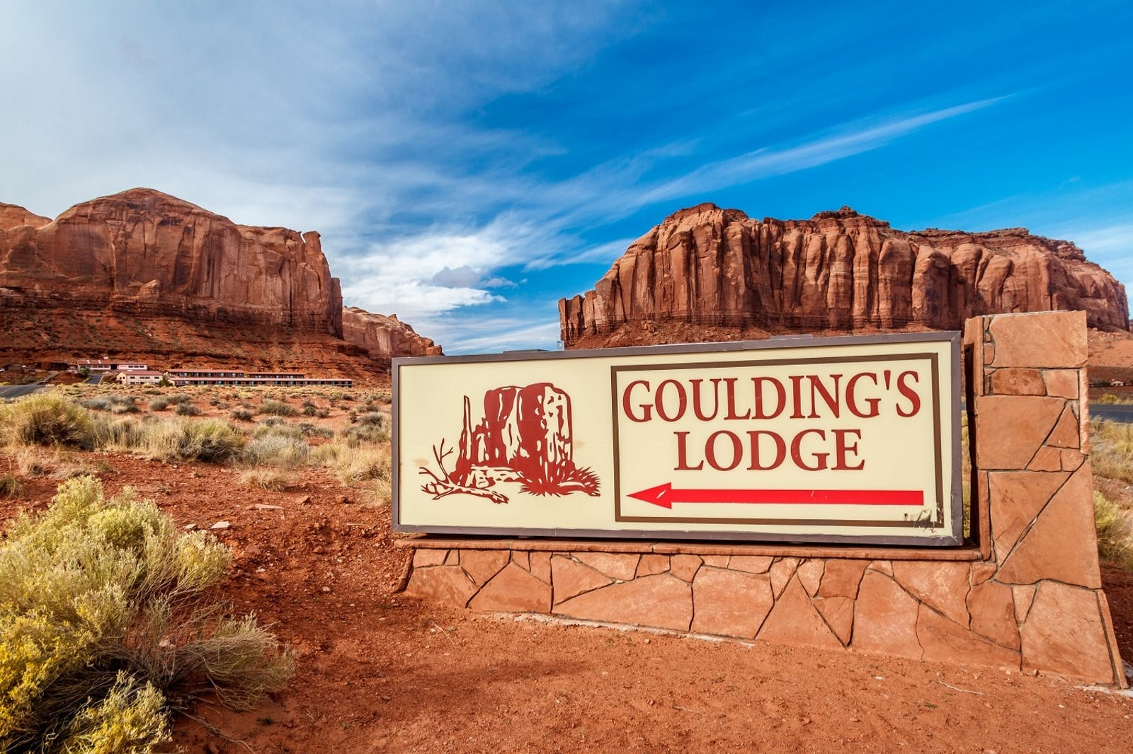 gouldings trading post and lodge