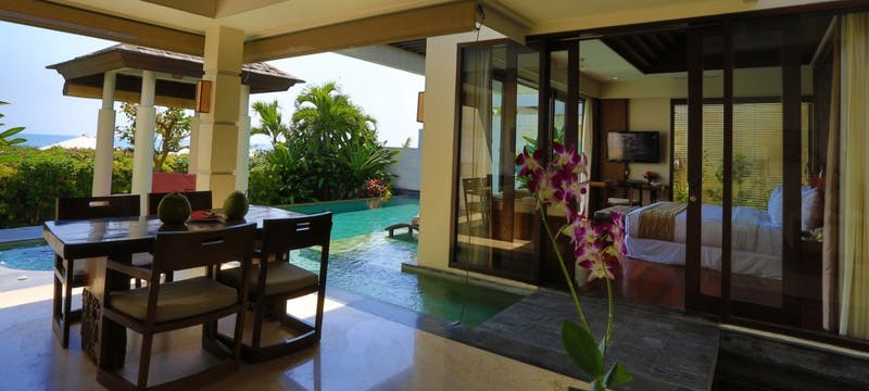 1 bedroom ocean villa at The Seminyak Beach Resort & Spa