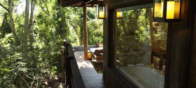 Private decking at Awasi Iguazu