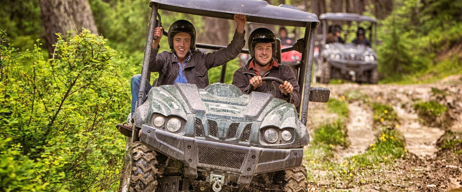 utvs at three bars guest ranch