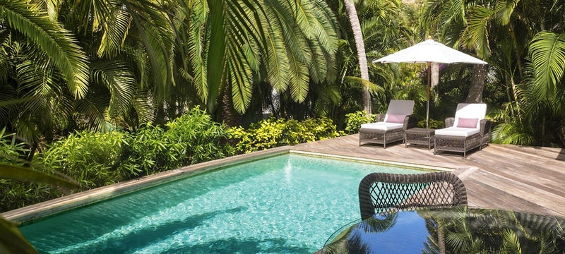Tropical Suite with pool at Cheval Blanc St Barth Isle de France