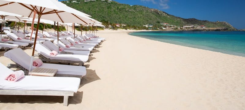 Beach at Cheval Blanc St Barth Isle de France