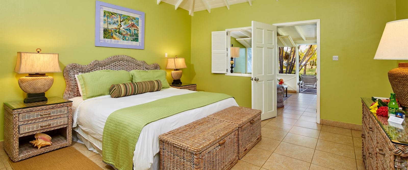 Deluxe Garden Suite at Nisbet Plantation Beach Club, Nevis