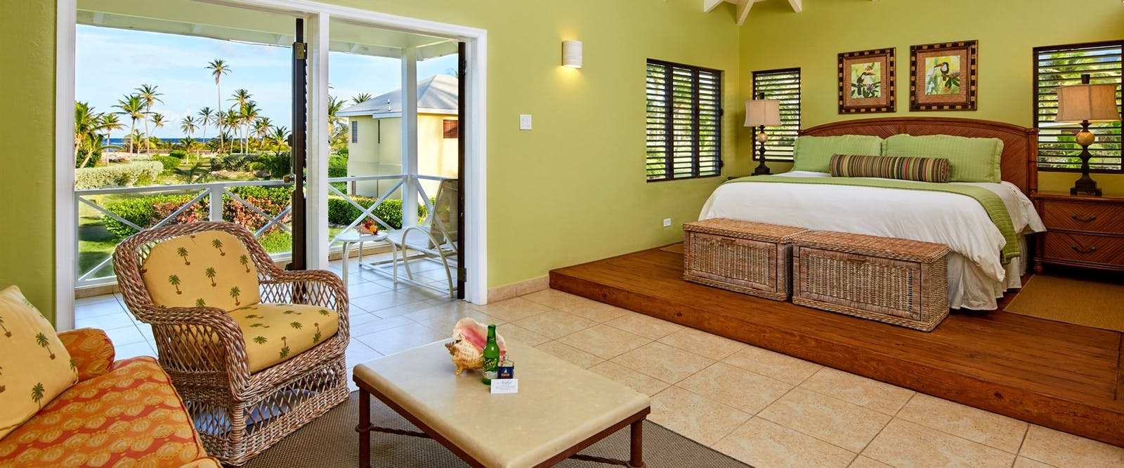 Upper Premier Junior Suite at Nisbet Plantation Beach Club, Nevis