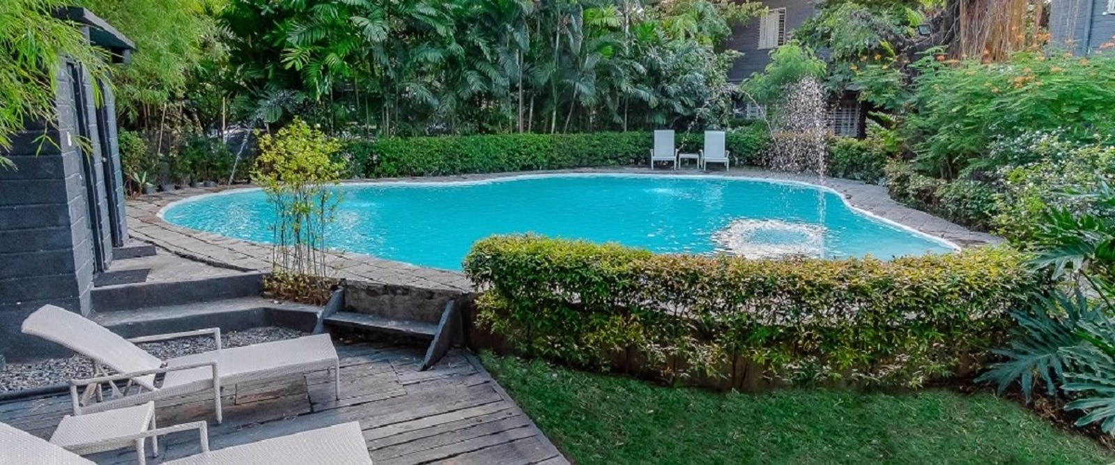 Swimming pool, The Henry Hotel, Philippines