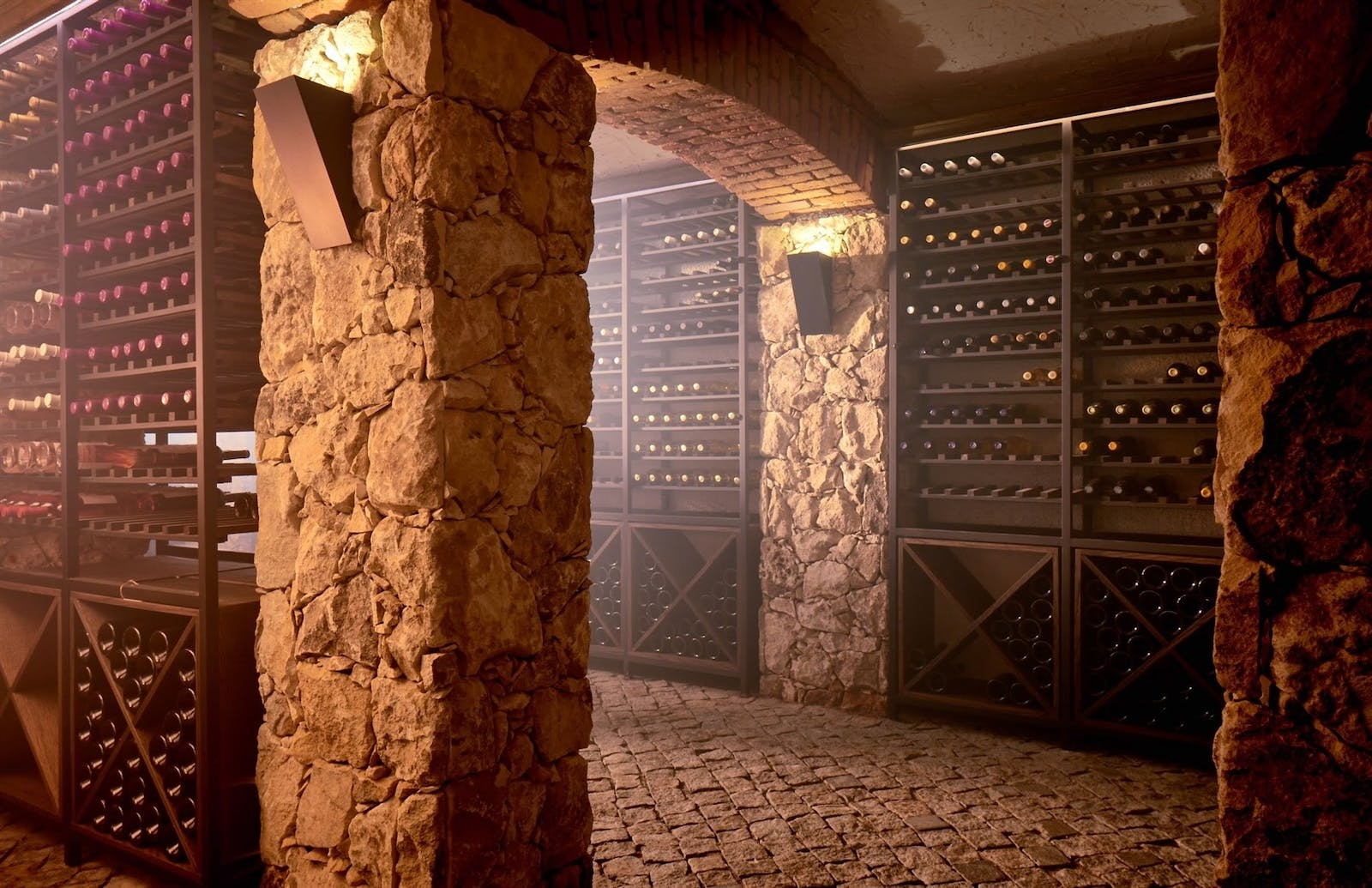 Wine Cellar, Zornitza Family Estate, Bulgaria