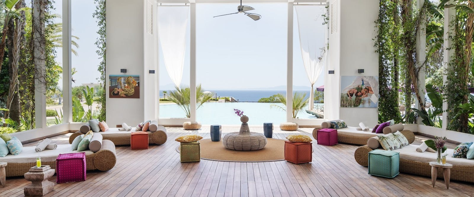 Chill Area, Kempinski Hotel Barbaros Bay, Bodrum, Turkey