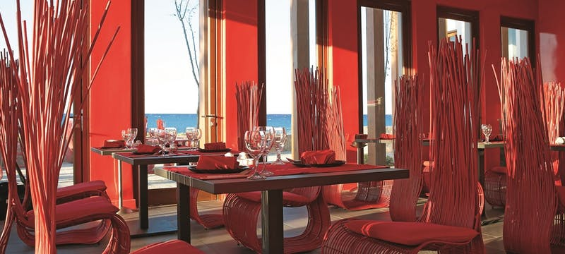 Blue Monkey Asian Restaurant at Amirandes Grecotel Exclusive Resort, Crete, Greece