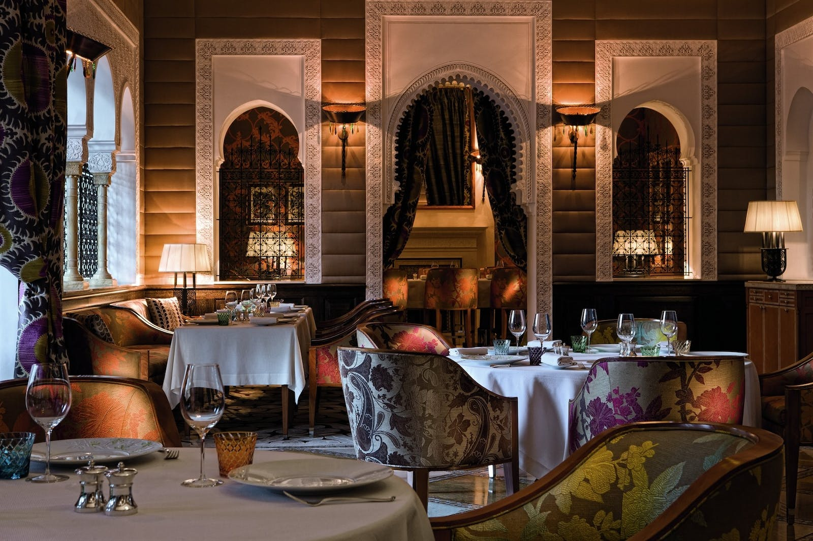 Dining at Royal Mansour, Marrakech