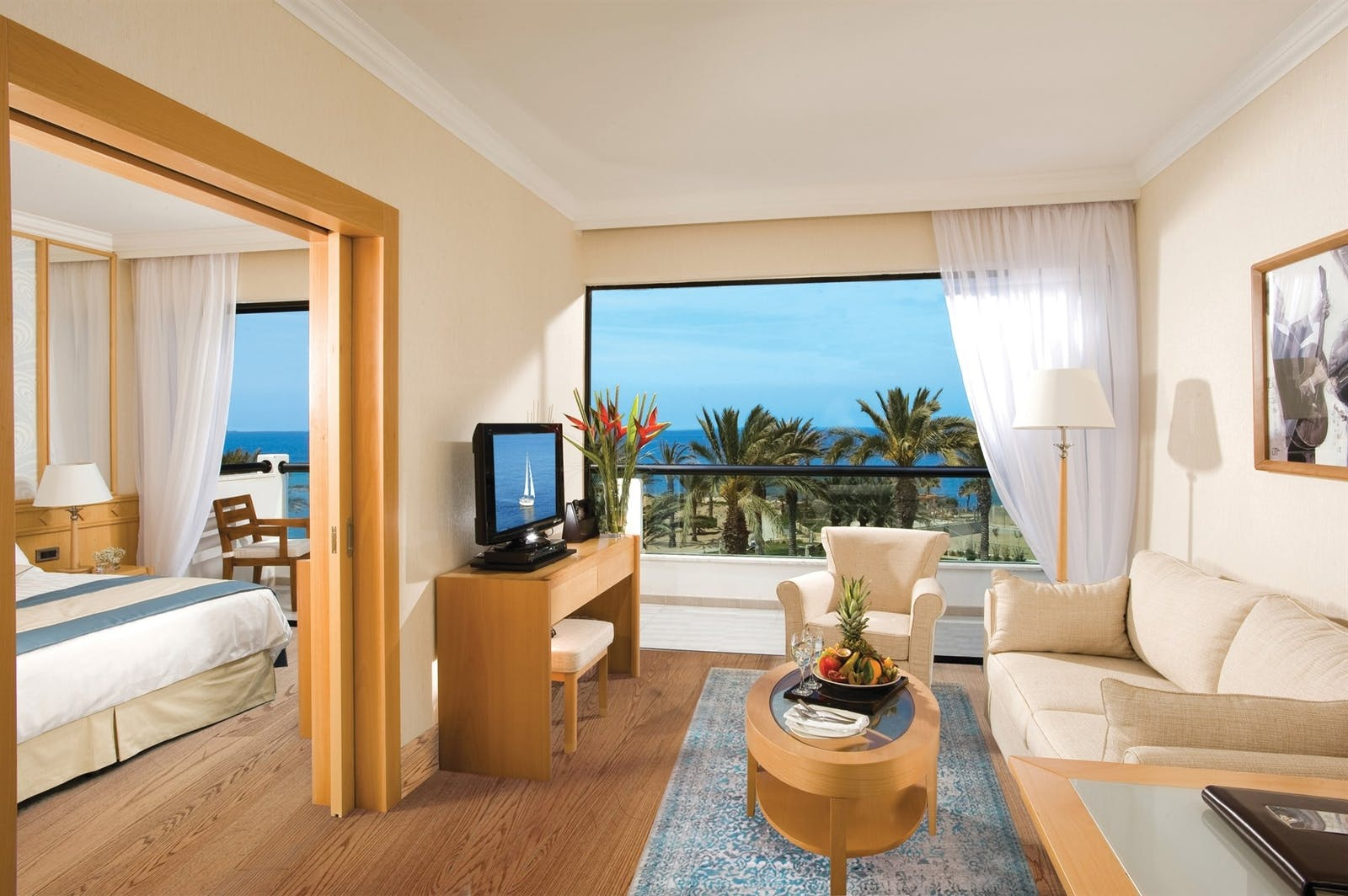 One Bedroom Suite, Constantinou Bros Asimina Suites Hotel, Almyra, Cyprus