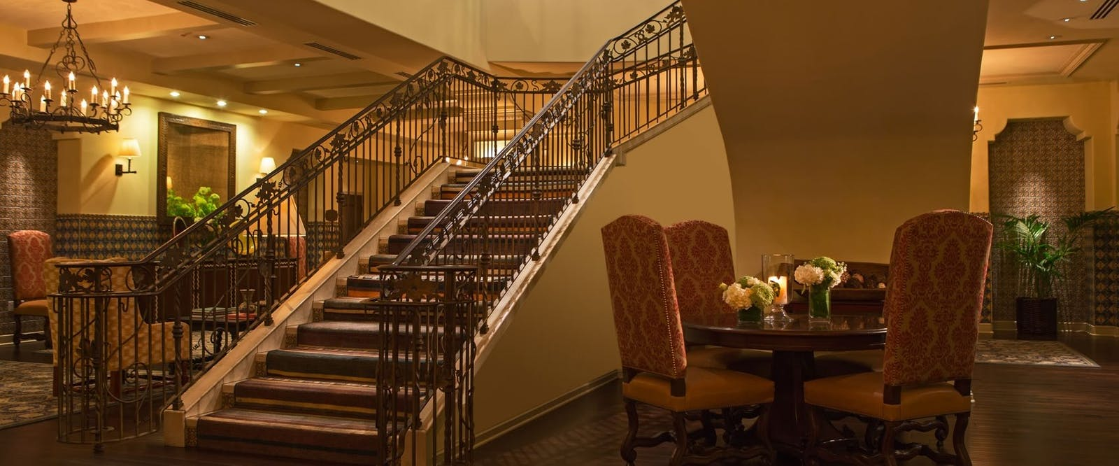 Grand Staircase at Kimpton Canary Hotel, Santa Barbara