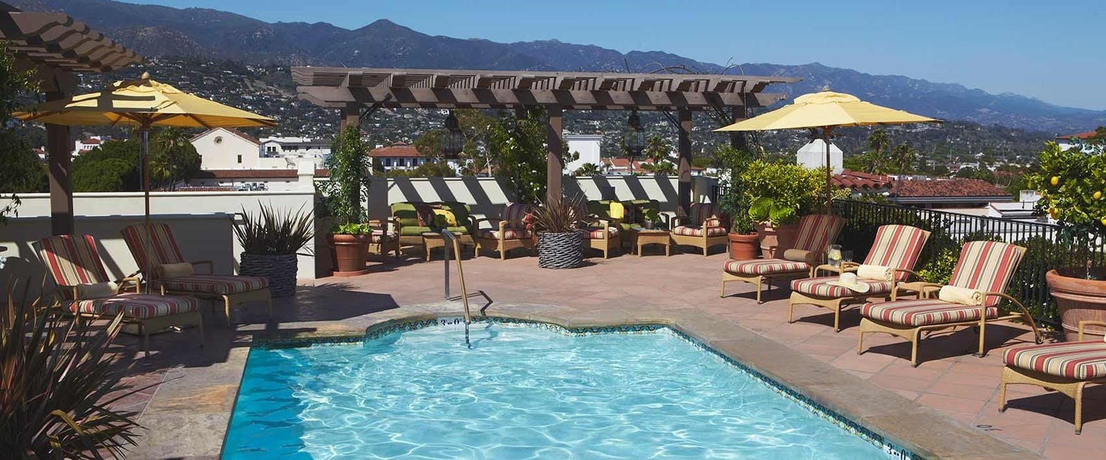 Rooftop Pool at Kimpton Canary Hotel, Santa Barbara