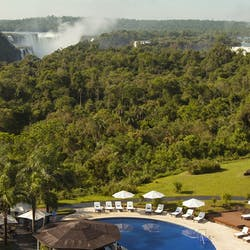 Swimming pool with view, Melia Iguazu, Argentina