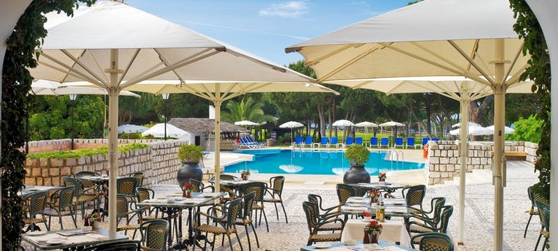 Alfresco dining at Pine Cliffs - A Luxury Collection Resort, Portugal
