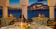 Dining at Cap Juluca, Anguilla