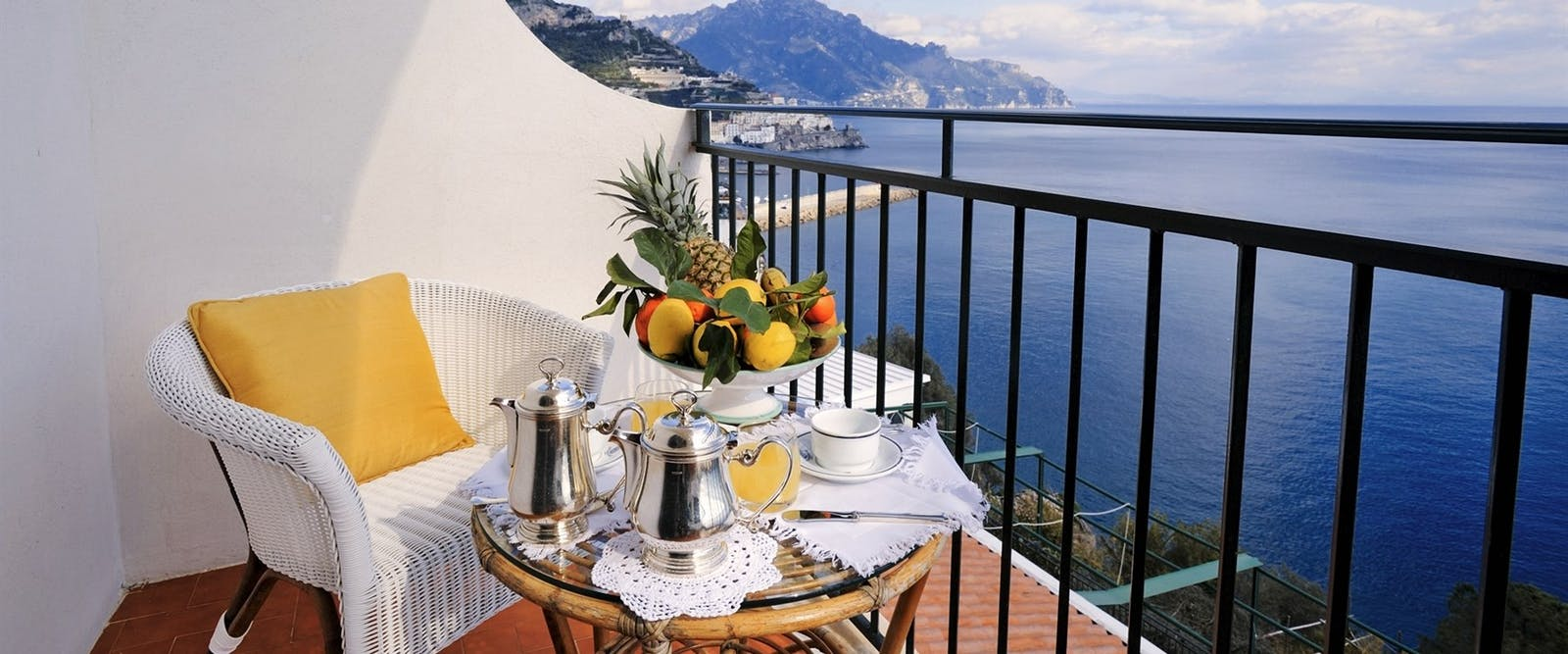 Superior Double Room Terrace at Hotel Santa Caterina, Amalfi Coast, Italy